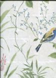 Empress Imperial Garden Wallpaper 2669-21703 By Beacon House for Brewster Fine Decor